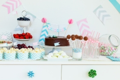 Snack and dessert table